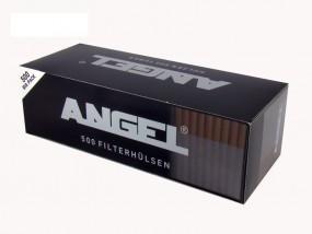 Angel Schwarz Zigarettenhülsen 500 Stück