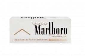 Marlboro Gold Zigarettenhülsen 200 Stück