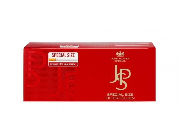 JPS Spezial Rot Zigarettenhülsen 250 Stück