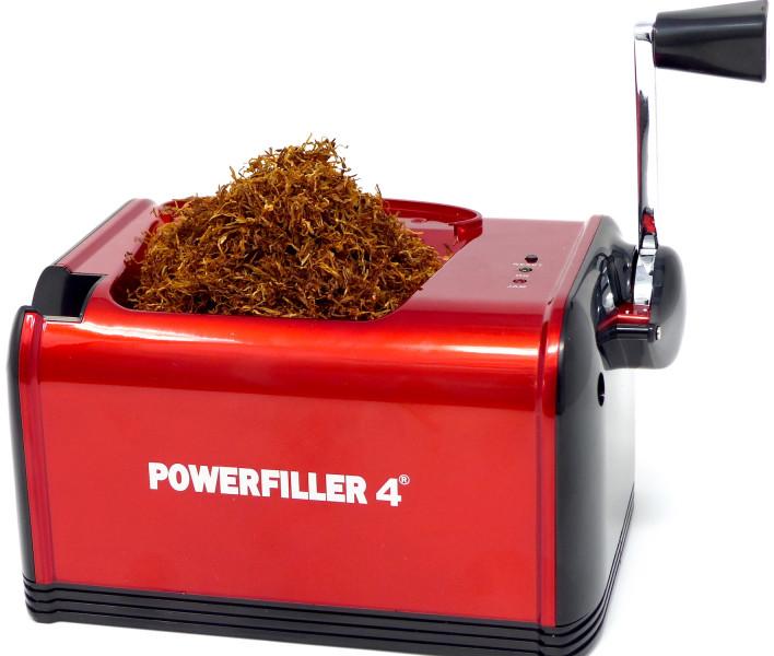 Elektrische Zigarettenstopfmaschine Powerfiller 4 rot Neu
