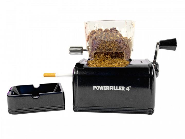Powerfiller 4s XXL Elektrische Zigarettenstopfmaschine Schwarz