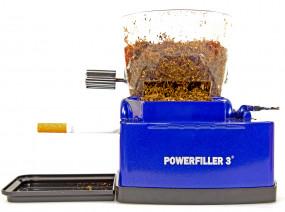Powerfiller 3 elektrische Zigarettenstopfmaschine XXL Blau