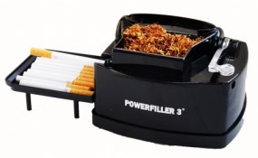 Elektrische Zigarettenstopfmaschine Powerfiller 3-S Schwarz VG