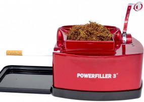 Elektrische Zigarettenstopfmaschine Powerfiller 3 Rot