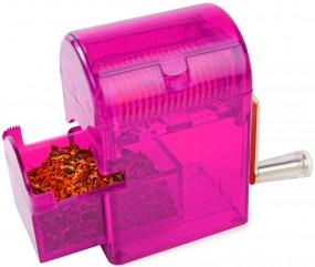 Tabakschredder für Tabakblätter Feinschnitt Lila