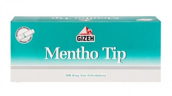 Mentho Tip Zigarettenhülsen 200 Stück