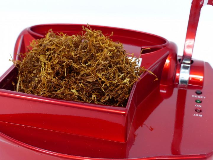 Elektrische Zigarettenstopfmaschine Powerfiller 3S rot Tabak