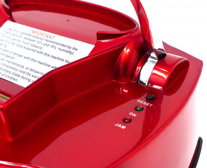 Elektrische Zigarettenstopfmaschine Powerfiller 3S rot Hochwertige