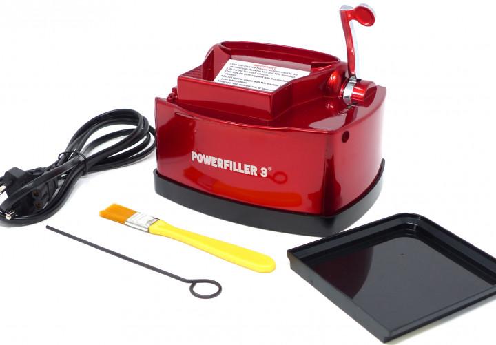 Elektrische Zigarettenstopfmaschine Powerfiller 3S rot Testsieger